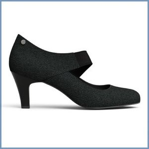 Betabrand On Your Mark Wrap Style Heels Maryjane